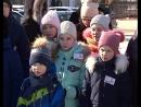 Школьники выступают в роли гидов по родному городу.