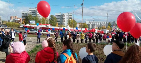 Акция «Голубь мира» в Усть-Илимске