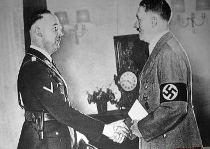 Гиммлер и Гитлер