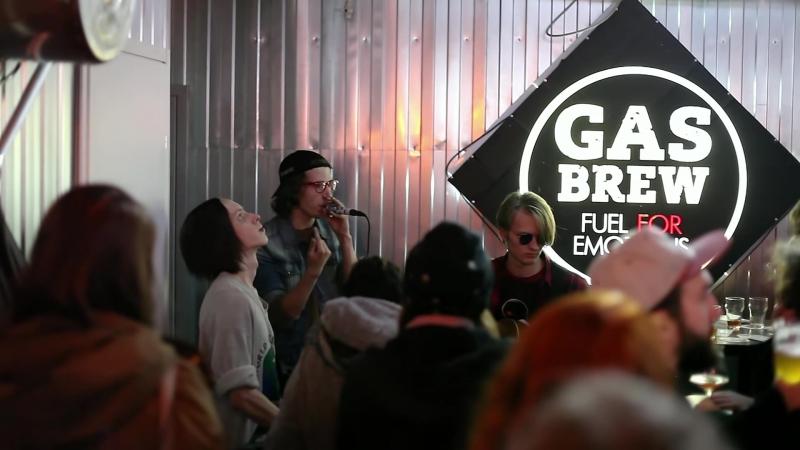 Открытие taproom на пивоварне GAS Brew