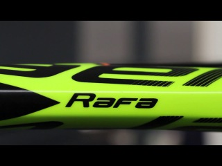Подготовка ракетки Рафы - Pure Aero к финалу #RG17