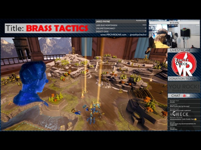 ✔ Let's Play Brass Tactics Campaign! 2 [Oculus VR RTS]
