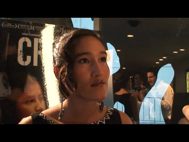 Q'Orianka and Xihuaru Kilcher Interviewed By Ken Spector at Crude movie premiere - LivingEco.com