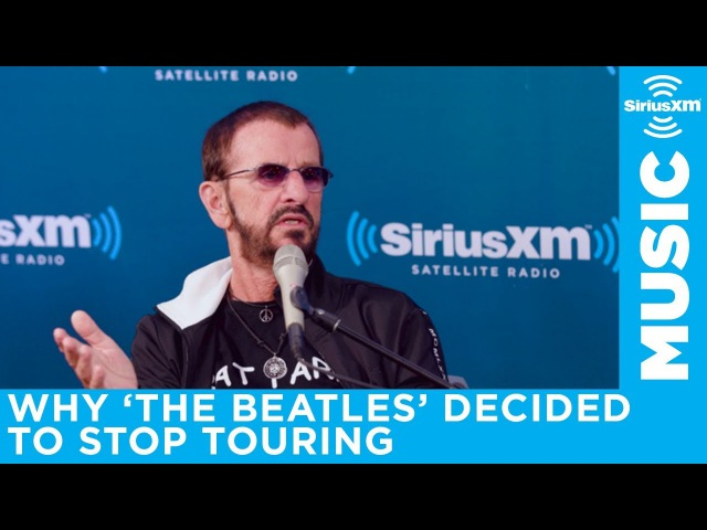 Ringo Starr describes how hard it was to play live when the crowd was so loud