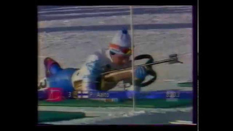 Биатлон-1994. Олимпийские Игры в Лиллехаммере. Спринт. Женщины