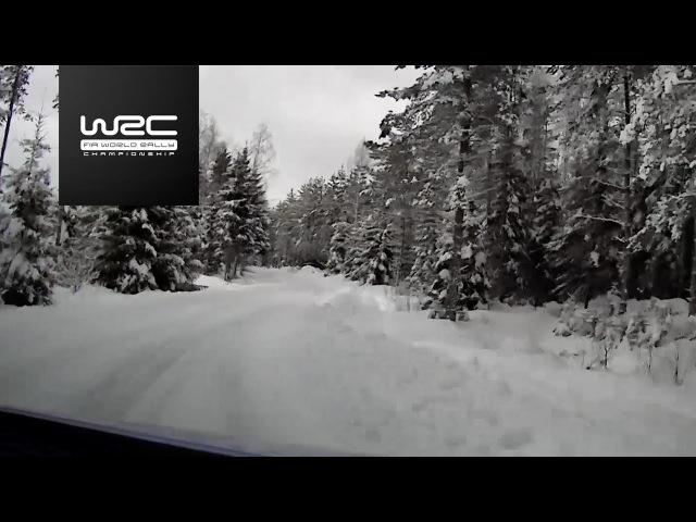 WRC Rally Sweden2018 Shakedown Onboard Neuville