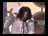 Michael Jackson entrega premio a su Idolo James Brown sub. Espa