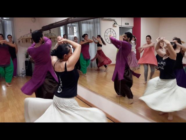 AAJA NACHLE / O RE PIYA / MADHURI DIXIT / YASHRAJ / RAHAT FATEH ALI KHAN / WORKSHOP VALENCIA 2017