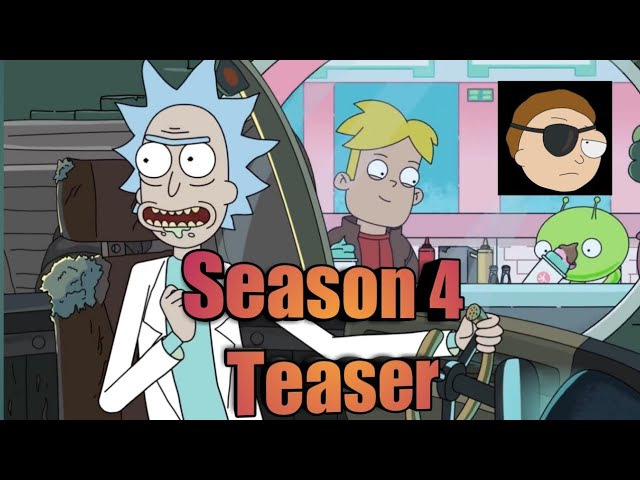 Rick and Morty Season 4 Teaser