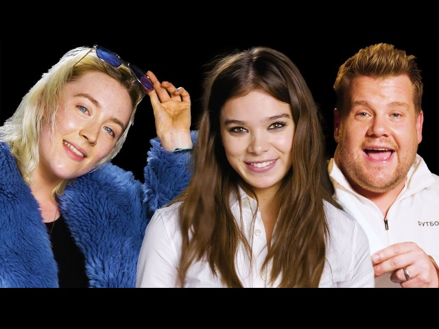 Saoirse Ronan, Hailee Steinfeld, and James Corden Sing Bruno Mars | Lyrical Improv | W Magazine