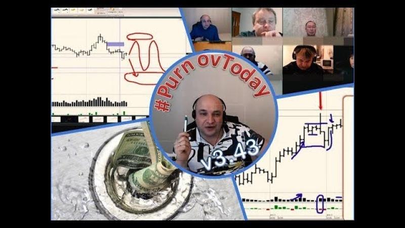 Слив по рынку. По какой стратегии торговать нельзя. Система Побарного Анализа PurnovToday v3.43