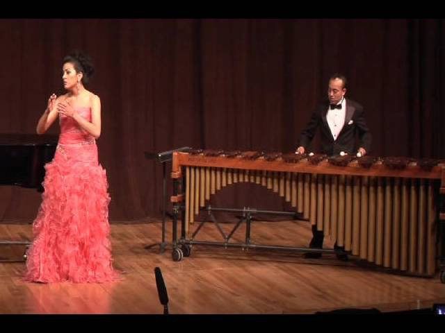 Yearning for. 2. Song of Almah- Andrew Beall- PercusíVoz Ensamble