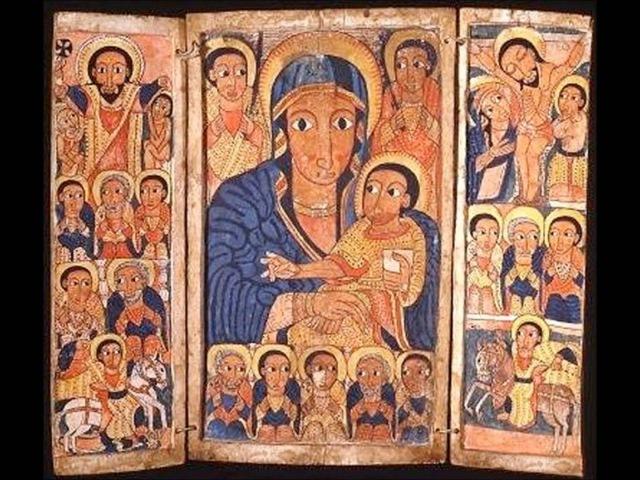 Эфиопское духовное песнопение на языке геэз