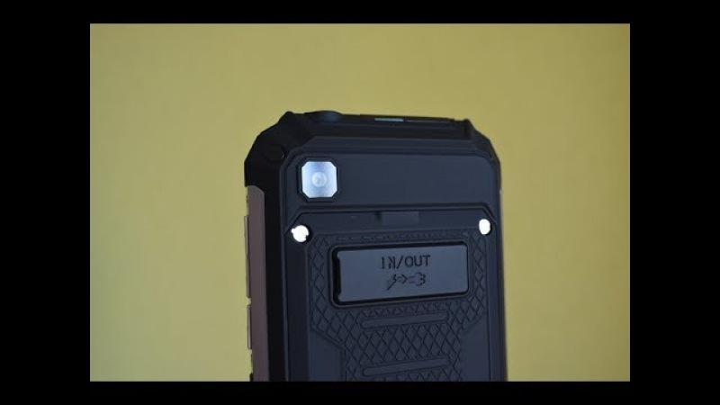 Geotel G1 Terminator. 7500 mAh. 2/16. 3G. i'll be back, если что! ОБЗОР бюджетника с МЕГА батареей!