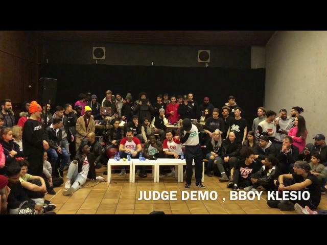 Original Slum Battle Judge Demo Bboy Klesio