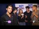 CNCO entrevista en Tampa. ¿Qué siente Erick al volver a Tampa? (Tour Enrique Iglesias y Pitbull)