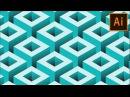 Vector Geometric Background in Illustrator | Adobe Illustrator Tutorial