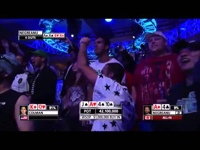 Guy wins $15 million at poker, reaction isn't exactly priceless....