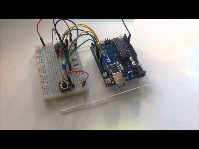 How to make a laser security system with Arduino (Tutorial, incl. Sketch)