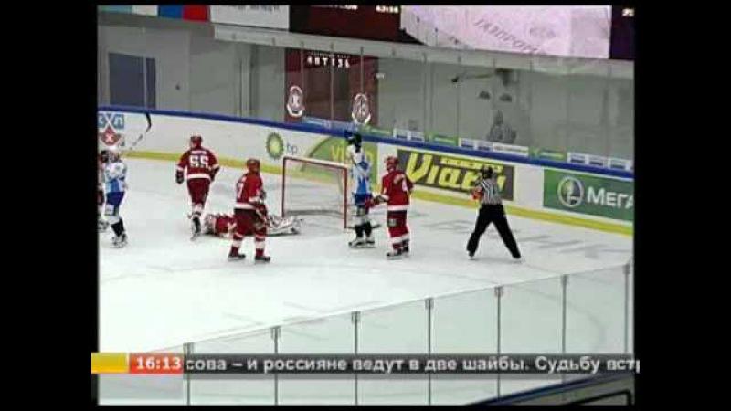 Новости спорта (ОНТ, ноябрь 2010) Вторая подряд победа у ХК Динамо-Минск в КХЛ
