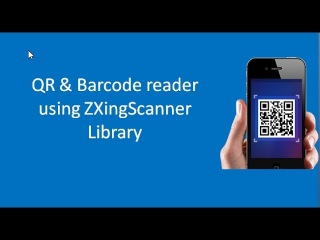 Android Tutorial: Create simple QRCode reader using ZXingScanner Library