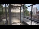 Sweden Stockholm Alvik 2X elevator subway ride to Stora Mossen