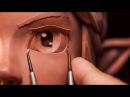 Sculpting Link from The Legend of Zelda Traditionally - Sculpture_Geek