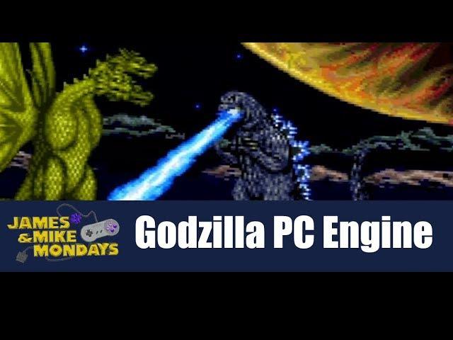 Godzilla: Battle Legends (PC Engine CD) James Mike Mondays