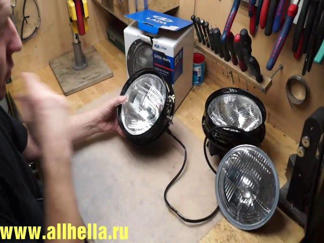 Простая замена штатных фар на автомобиле ВАЗ 2121 Нива на фары HELLA. Инструкция.
