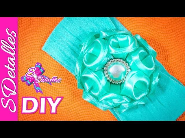 Como hacer Bandas Elásticas Banda Elástica para bebé 15 Video 98 SDetalles DIY