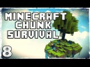 [Coop] Minecraft Chunk Survival. 8: Куча алмазов.