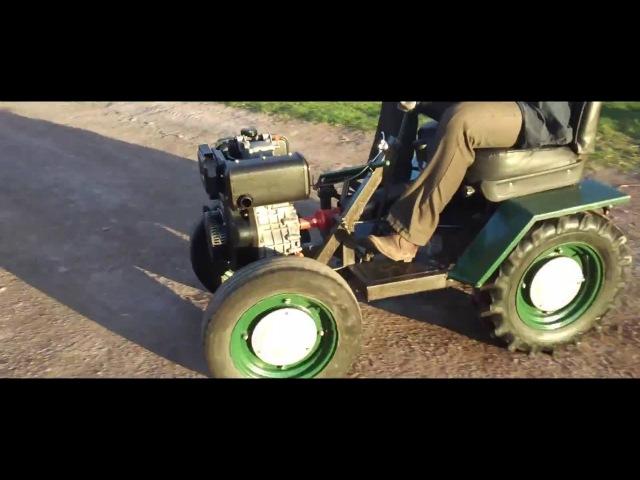 Минитрактор на основе дизельного двигателя 10 Л С vbybnhfrnjh yf jcyjdt lbptkmyjuj ldbufntkz 10 k c