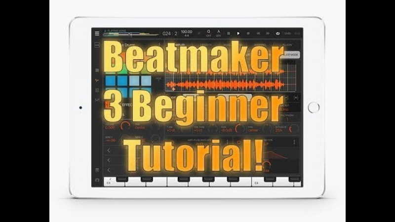 Beatmaker 3 Tutorial: Introduction - Beginner's Guide to How to Start Recording a Song!