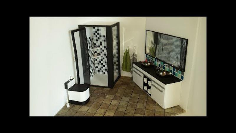 DIY Doll Bathroom