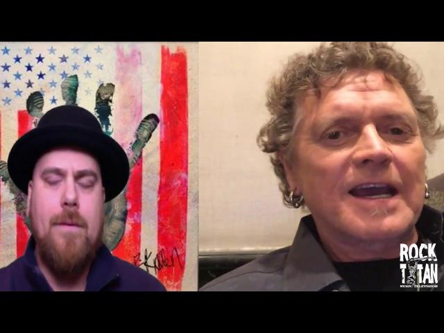 Def Leppard drummer Rick Allen discusses Drums for Peace