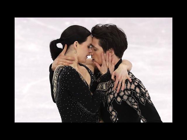 Tessa Virtue and Scott Moir's Ice Dance Short Program in Team Figure Skating Pyeongchang 2018