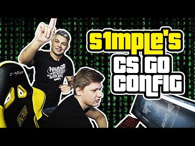 S1mple's CS:GO config [RU/EN]