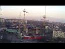 Будова ЖК Горизонт на ул. Костанди 104, ноябрь 2017 за 2 минуты