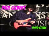 Paul Gilbert Full Guitar Clinic 1989