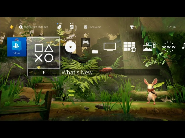 Moss Pre-Order Exclusive PlayStation Theme