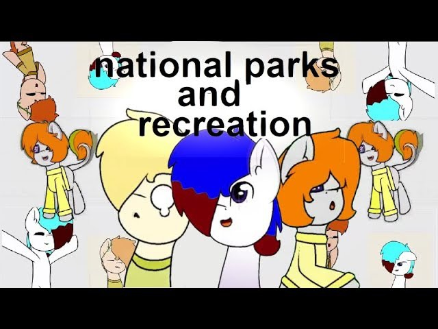National parks and recreation | Original by KittyDog | Gift for Oskar and SuicideNоise