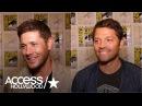 Jensen Ackles Misha Collins On Kansas' Surprise Appearance In Hall H For The 'Supernatural' Panel