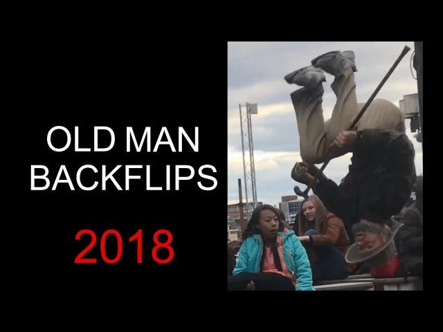 Old Man Backflips Baltimore
