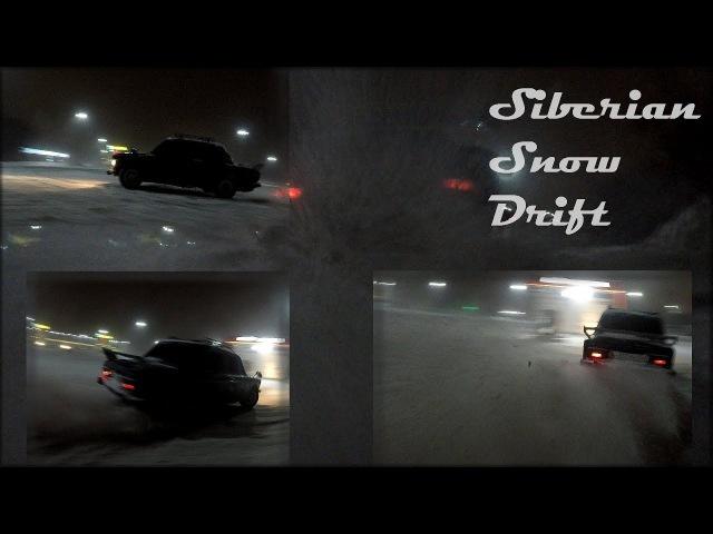 Black Jack. RUSSIAN SNOW DRIFT. Ваз 2106 валит боком.