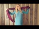 Платье спицами 1 я часть Базовая модель