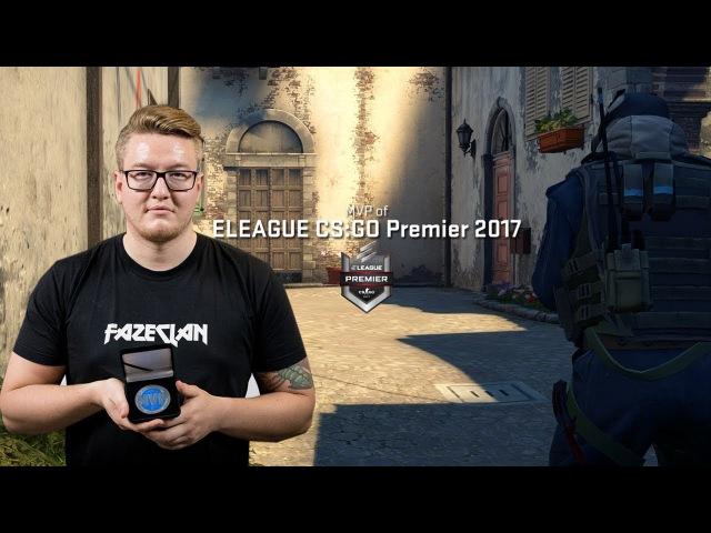 Rain - HLTV MVP by ZOWIE of ELEAGUE CSGO Premier 2017