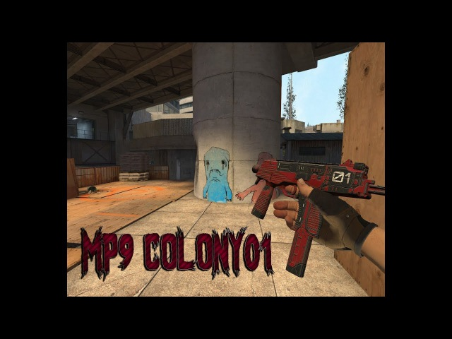 MP9 Colony01 [Gloves]