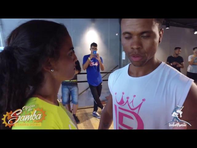 Baila Mundo Jimmy de Oliveira Léo Fortes e Robertinha Stephanie Oficina do Samba Verão 2018