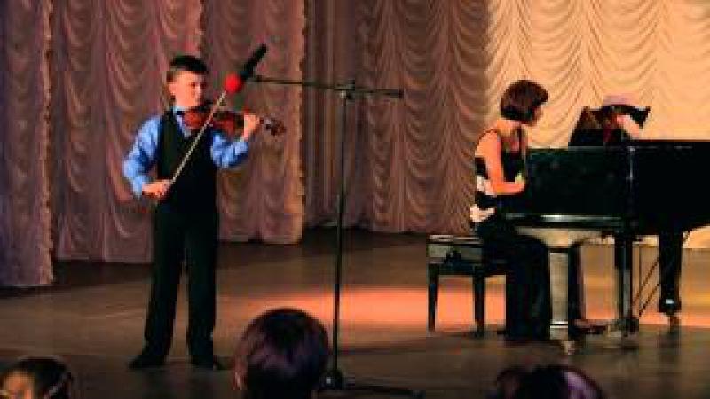 Матвей Блюмин. 5) Л. Шпор Концерт № 2 часть 1