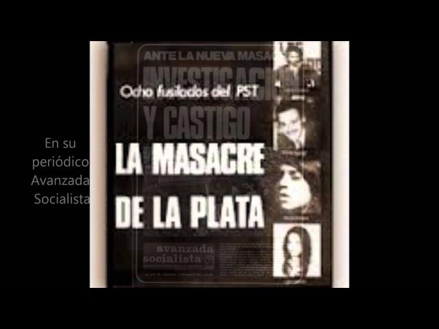 La Masacre de La Plata- Historia del PST y el morenismo